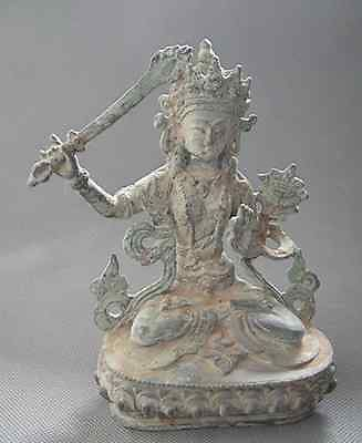 Statua In Bronzo Cinese Buddha High Quality Materials Antiques Other Asian Antiques