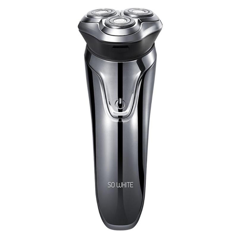 Xiaomi Mi Soocas SO WHITE Electric Shaver Razor Washable USB Rechargeable 3D Smart Control Shaving Machine Beard Trimmer For Men