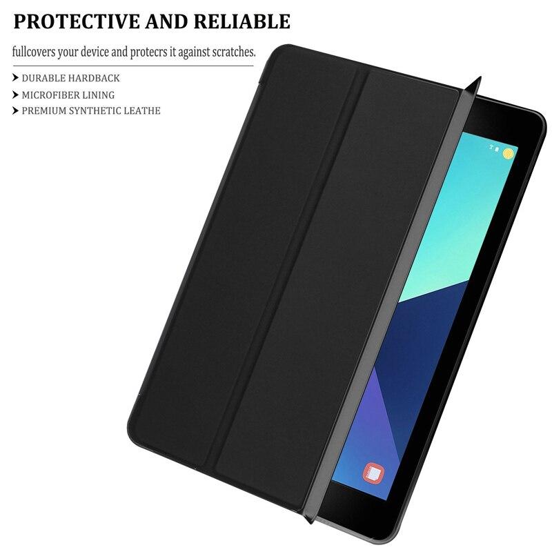 CucKooDo for Samsung Tab S3 9.7, Ultra Kerge Slim Nutikas Kaanekott - Tahvelarvutite tarvikud - Foto 4