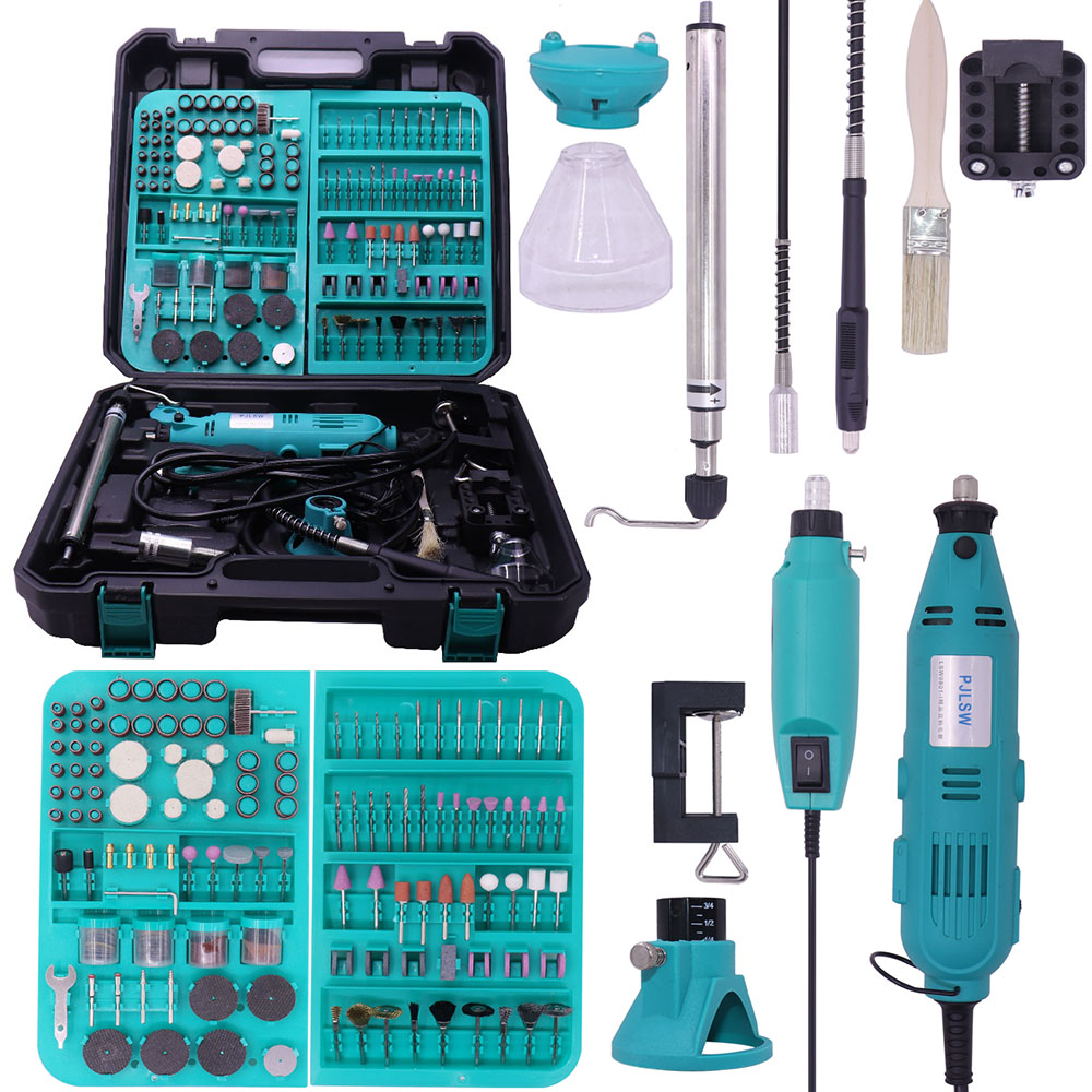 PJLSW-180w-350-I-Kit-combination-tool-electric-grinder-suit-small-jade-carving-machine-polishing-machine