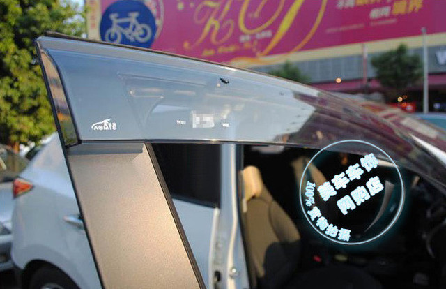 Для 2010 Hyundai Ix35 Сторона Окна Вент Козырьки Дефлектора/Дождь Гвардии Акриловые 4 ШТ. Высокое Качество
