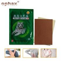 OPHAX-baume du tigre blanc, plâtre médical à base de plantes chinoises pour douleur articulaire, Curative, de dos, muscles, Patch, 24 pièces/3 sachets