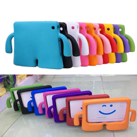For Apple iPad 5 case for iPad6 Ipad pro Tablet Stand case Shockproof Children Kids Handle EVA Foam Case Cover For new ipad 2017