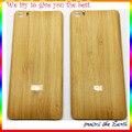 Натурального Бамбука Вуд Пластиковые Замена Задней Двери Батареи Крышку Корпуса Чехол Для Xiaomi Mi 5 M5 Mi5