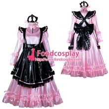 maid cosplay robe verrouillable