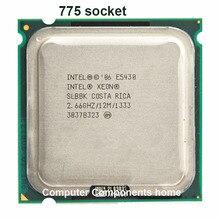 INTEL XEON E5430 LGA 775 Processeur 771 à 775 (2.660 GHz/12 MB/1333 MHz/Quad Core) LGA775 travail sur 775 carte mère garantie 1 année