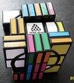 Witeden súper loco 3 x 3 x 7 : 00 I completamente funcional cubo mágico negro Puzzle de juguetes educativos para niños y Puzzlers