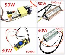 Waterproof LED Driver 10W 20W 30W 50W Spotlight Power Supply street lamp Flood lamp drive transformer Power Supply for LED Light(China)