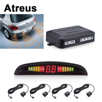 Atreus For BMW e46 e39 e36 Audi a4 b6 a3 a6 c5 Renault duster Lada granta Car Reversing Radar Parking Sensor LED Display Alert image