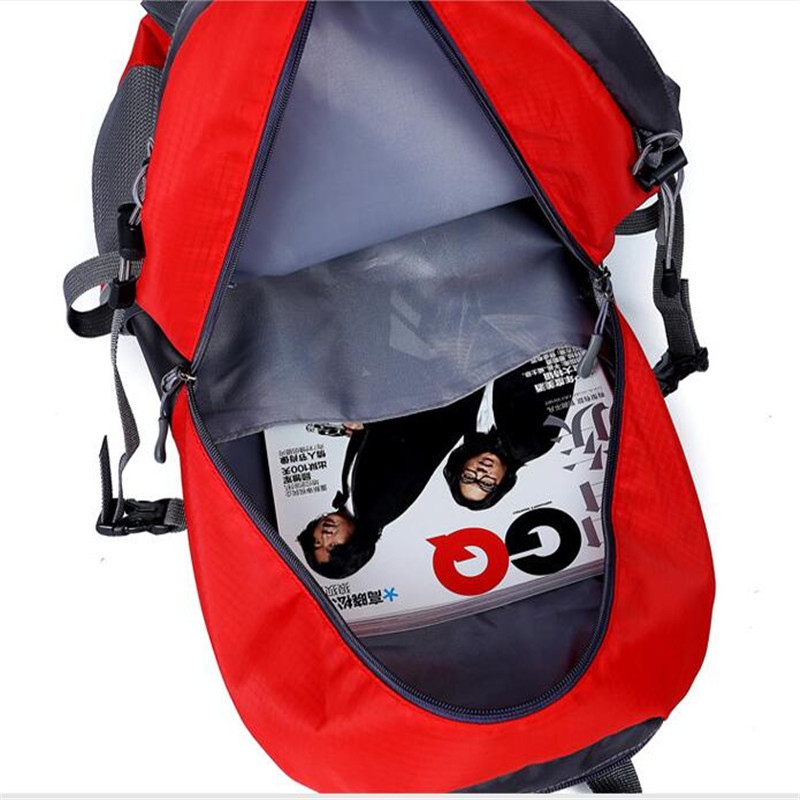 Hot Sale Nylon Black Backpack Waterproof Men's Back Pack Laptop Mochila High Quality Designer Backpacks Male Escolar S091 #5