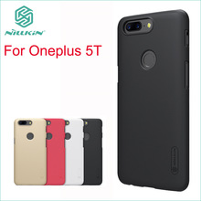 Nillkin Case For Oneplus 5T Cover Plastic Case For Oneplus 5T High Quality Super Frosted Shield Hard Case For Oneplus 5T смартфон oneplus 5t 128 гб черный