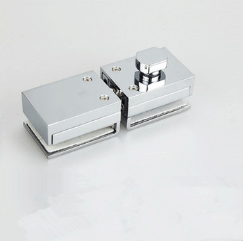 Double Glass Door Latches Lock 304 Stainless Steel Lock,Without Hole,Bidirectional Unlock Frameless Glass Door For Home Office h007lr frameless bath room shower glass door square tube handle l shape with r 304 stainless steel polish chrome