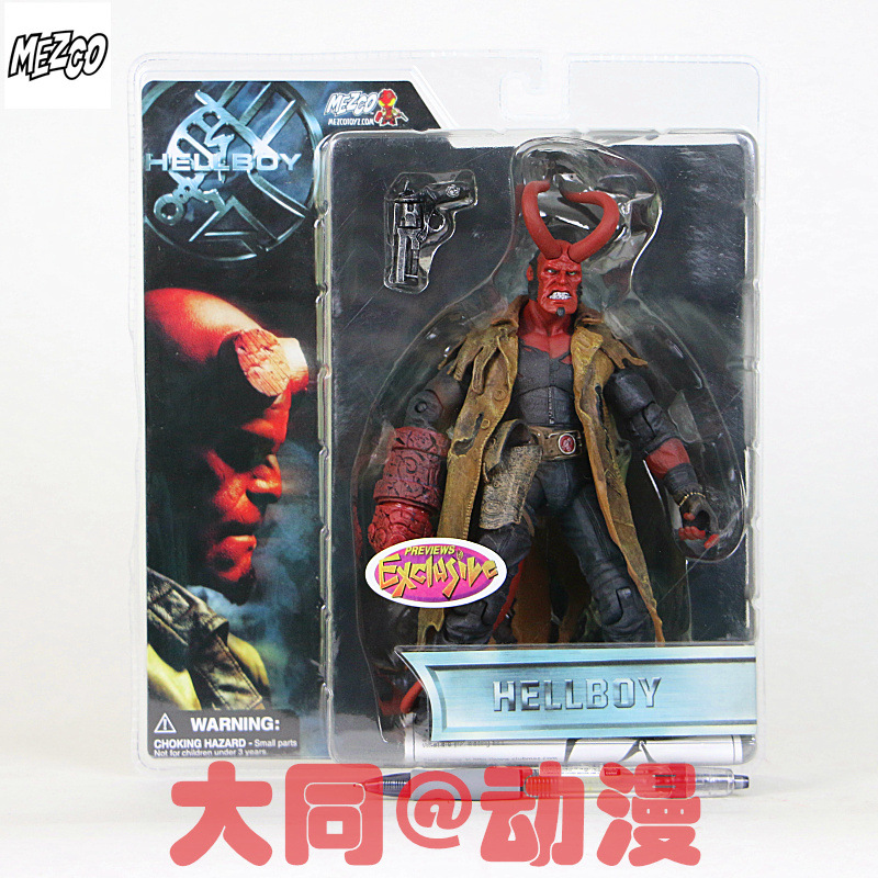 NEW hot 17cm Hellboy collectors action figure toys Christmas gift doll with box new hot 17cm captain america civil war avengers super hero movable collectors action figure toys christmas gift doll with box