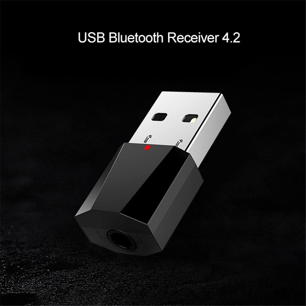 Мини 3,5 мм разъем AUX аудио MP3 аудио Bluetooth приемник автомобильный комплект с питанием от USB для музыкального динамика наушников адаптер для тел...