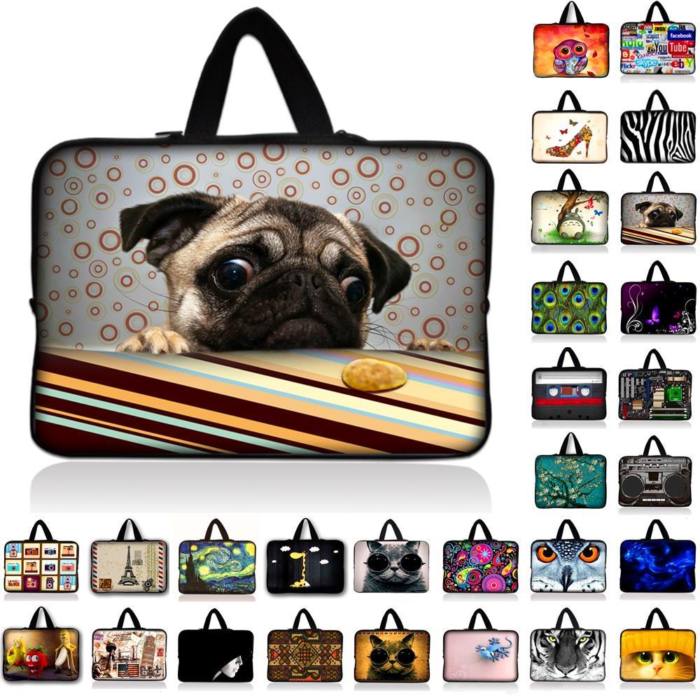 Neoprene Handle Laptop Sleeve Bag Notebook Smart Cover Case For Macbook Air/Pro/Retina 7 10 11.6 13 14 15.4 15.6 17.3 17.4 inch