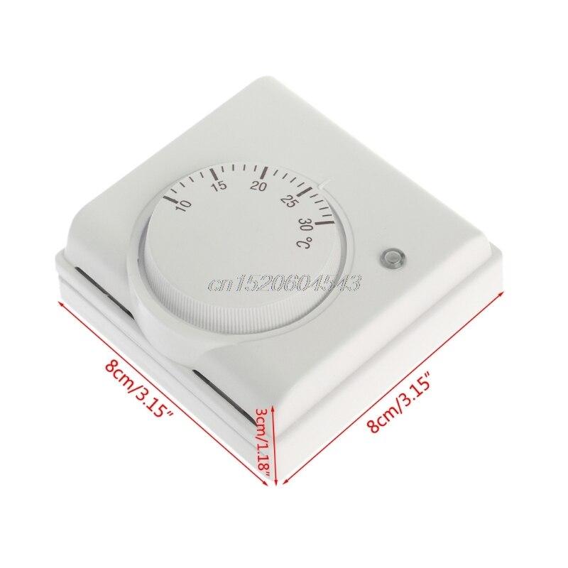 220 V 6A Mechanische Raumthermostat Temperaturregler Klimaanlage und ...