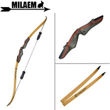 1Set 62inch Archery Recurve Bow With Stabilizer 25-50lbs Draw Weight Right Hand Longbow Hunting Outdoor Shooting Accessories
