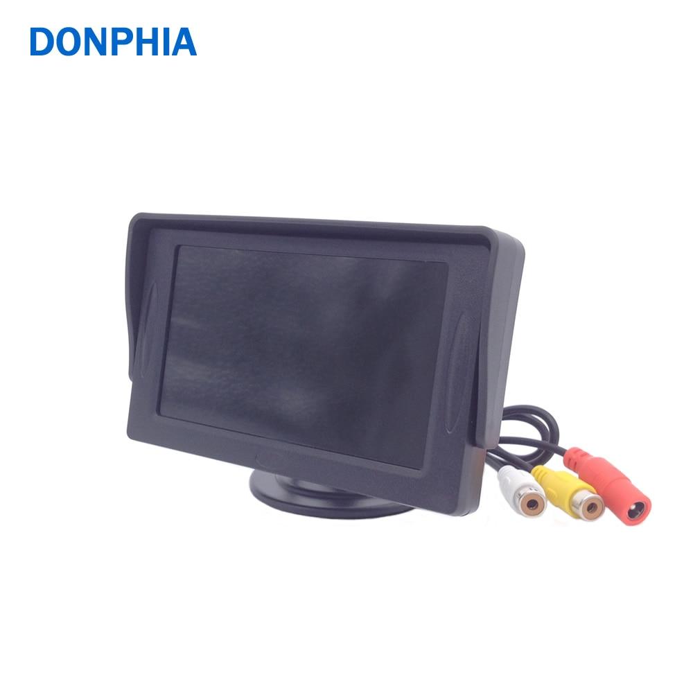 все цены на  Display for CCTV Camera 4.3' Screen LCD Monitor HD 2 Video Input RCA Connector  онлайн
