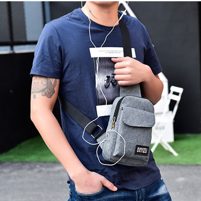 102c21f3d16d US $10.93 10% OFF|Women Backpack Chest Pack Multifunctional Men Crossbody  Bags Casual Travel Male Small Retro One Shoulder Bag Strap Back Pack-in ...