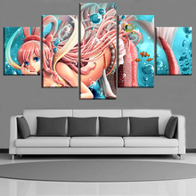Shirahoshi 5 Piece Canvas Wall Art