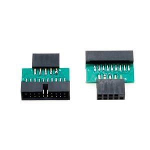Image 3 - YuXi USB3.0 19 PIN 20 pin female to USB2.0 9 pin male adapter USB 3.0 19/20Pin to USB 2.0 9PIN converter adapter Chassis Front