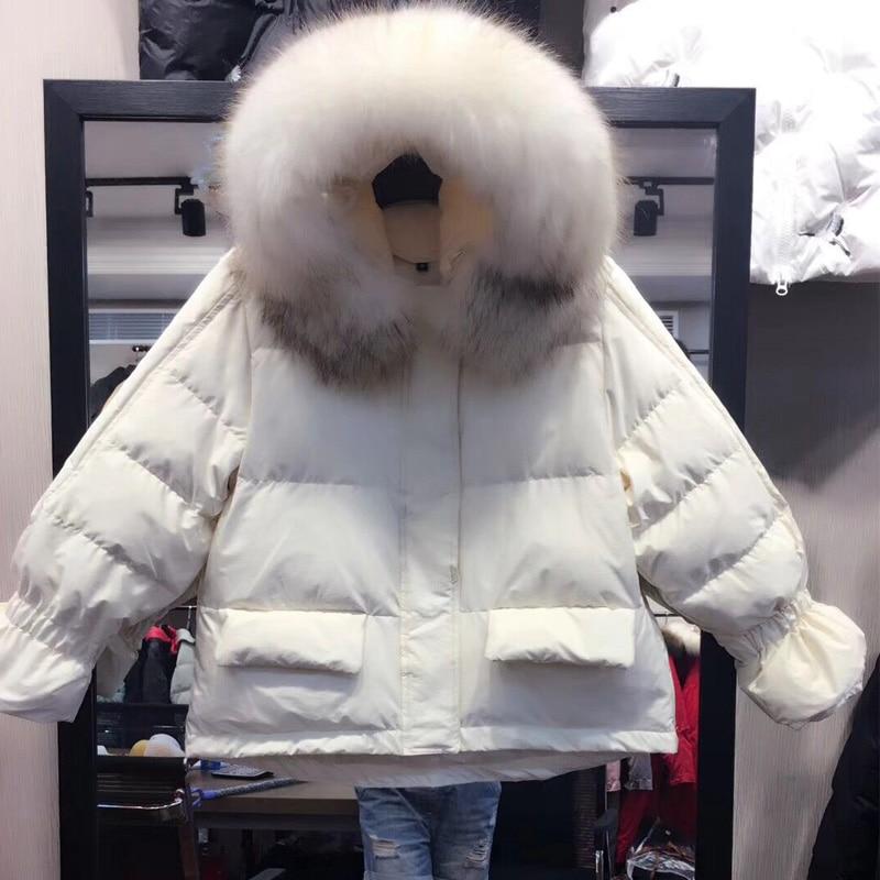 invernale da con uomo procione vera Giacca in pelliccia cappuccio di gdqEC