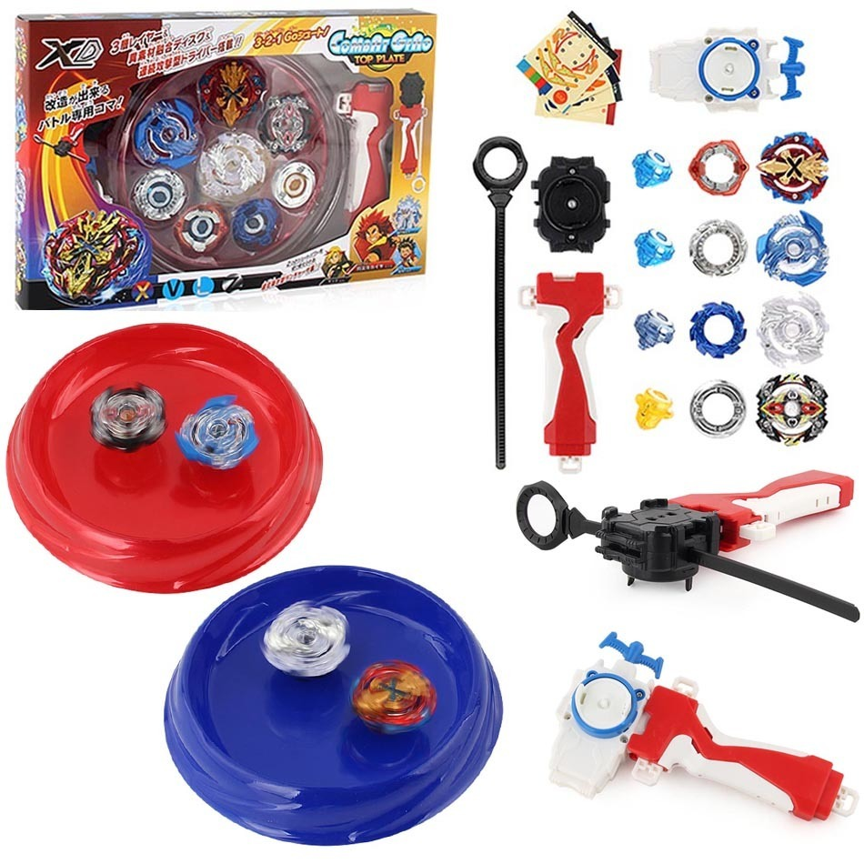 Free Shipping 4pcs/ set beyblade Arena Spinning Top Metal Fight Bayblade Metal Fusion Children Gifts Classic Toy Bayblade цена