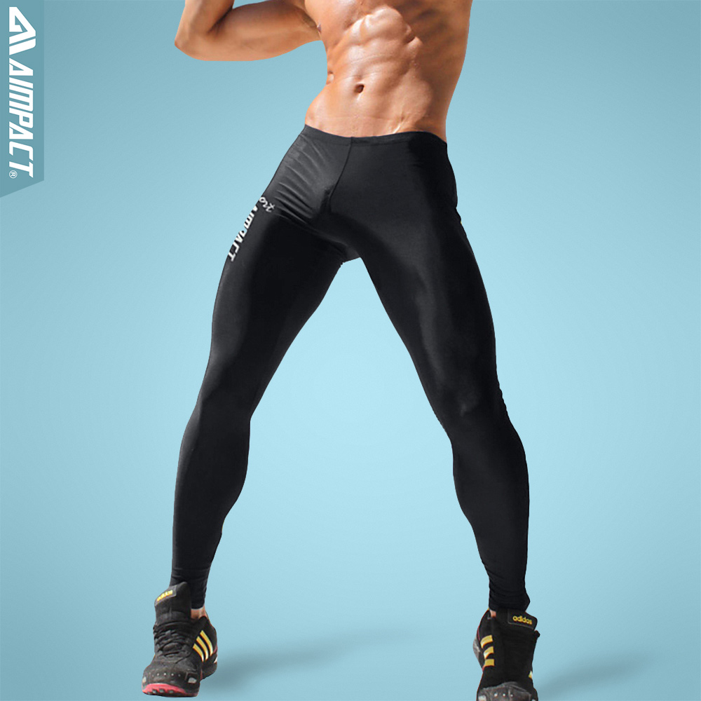 Aimpact Men's Sexy Tight Pants Slim Fitted Active Gymi Pants Crossfit Sporty Runningi Leggings Fitness Men's Workout Pants AM18