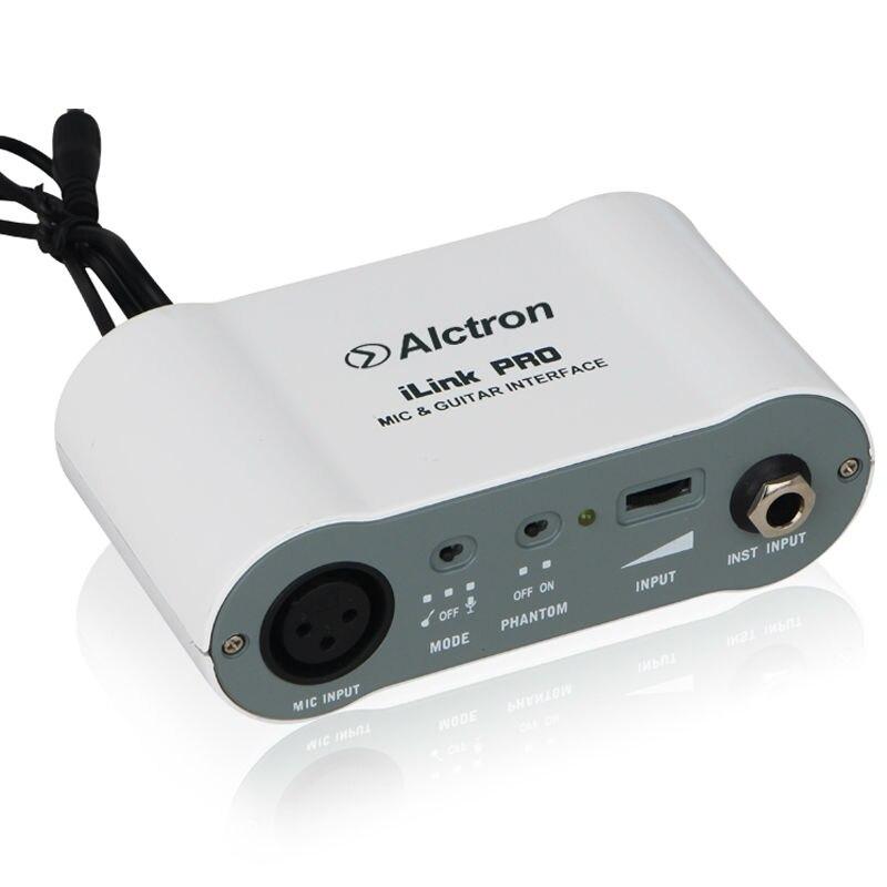 Computer Audio Interface Alctron Xu-2 Usb Konverter Xlr Zu Usb Mikrofon Pre-amp Digital Audio Konverter Mit Netzteil