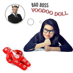 Image 3 - Mealivos Bad Boss Voodoo Doll stress relief reducer doll best novelty gift for pink elephant exchange