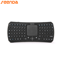 SEENDA Mini Bluetooth 3 0V Wireless Keyboard Handheld Remote Control Mouse Touchpad Keyboard Stand For IOS