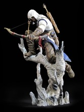 26cm Height Assassin's Creed III Ezio Altair Hartel ConnorPVC Action Figure Collectible Model Toy