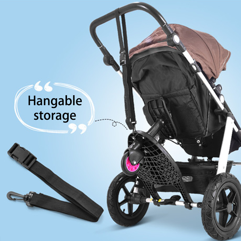 Baby Accessories Children 39 s Stroller Auxiliary Pedal Kids Glider Board Twins Auxiliary Trailer Baby Standing Plate Sitting Seat in Strollers Accessories from Mother amp Kids