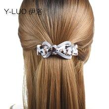 women headwear cute hair clips for girls vintage barrettes fashion bow accessories