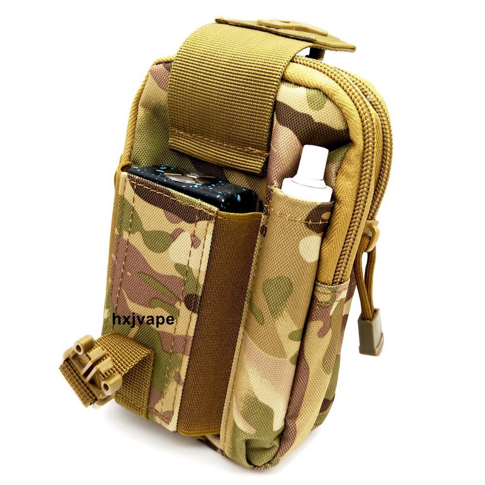 Hxjvape Vape Vaporizer Vapor Mod Holster Case Pouch Carrying Bag For Travel RDTA RDA Coil Tank Battery Juice Liquild E Cigarette