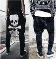 new harem pants printing casual pants  pants men's fashion trousers plus size 35 36