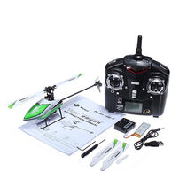 New Hot WLtoys V930 Power Star X2 4CH 6 Axis Gyro Brushless Flybarless RC Helicopter RTF
