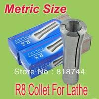 الشحن مجانا 5 قطع r8 كوليت متري الحجم رسم بار m12 أي حجم من 3 إلى 20 دعوى ل r8 كوليت تشاك حامل