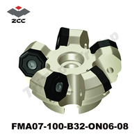 CNC Milling tool FMA07 100 B32 ON06 08high speed end mill for carbide milling insert ONHU type ONHU060408 PM PF