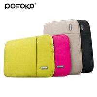 POFOKO For Macbook Air Pro Retina 11 13 15 Laptop Bag Portable Oxford Cloth Waterproof Laptop