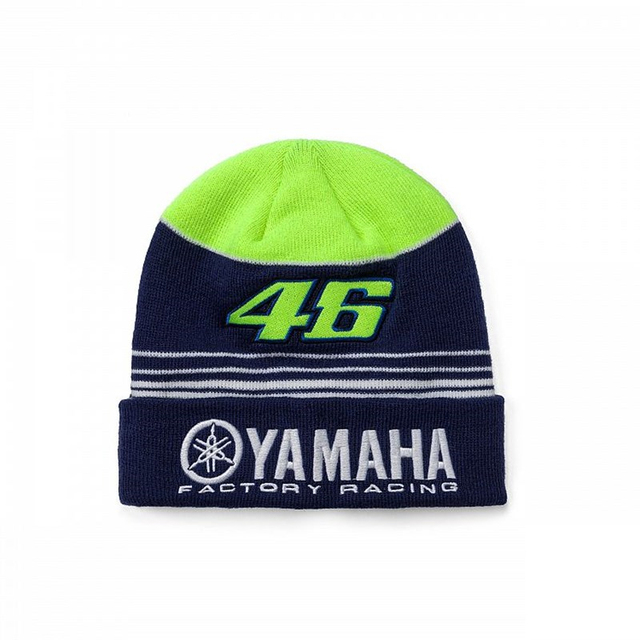 Factory Racing Beanie Moto VR 46 Winter Hat Rossi Very Warm Thicker Skullies Beanies Elasticity Outdoor Sport Men Women Knit Cap