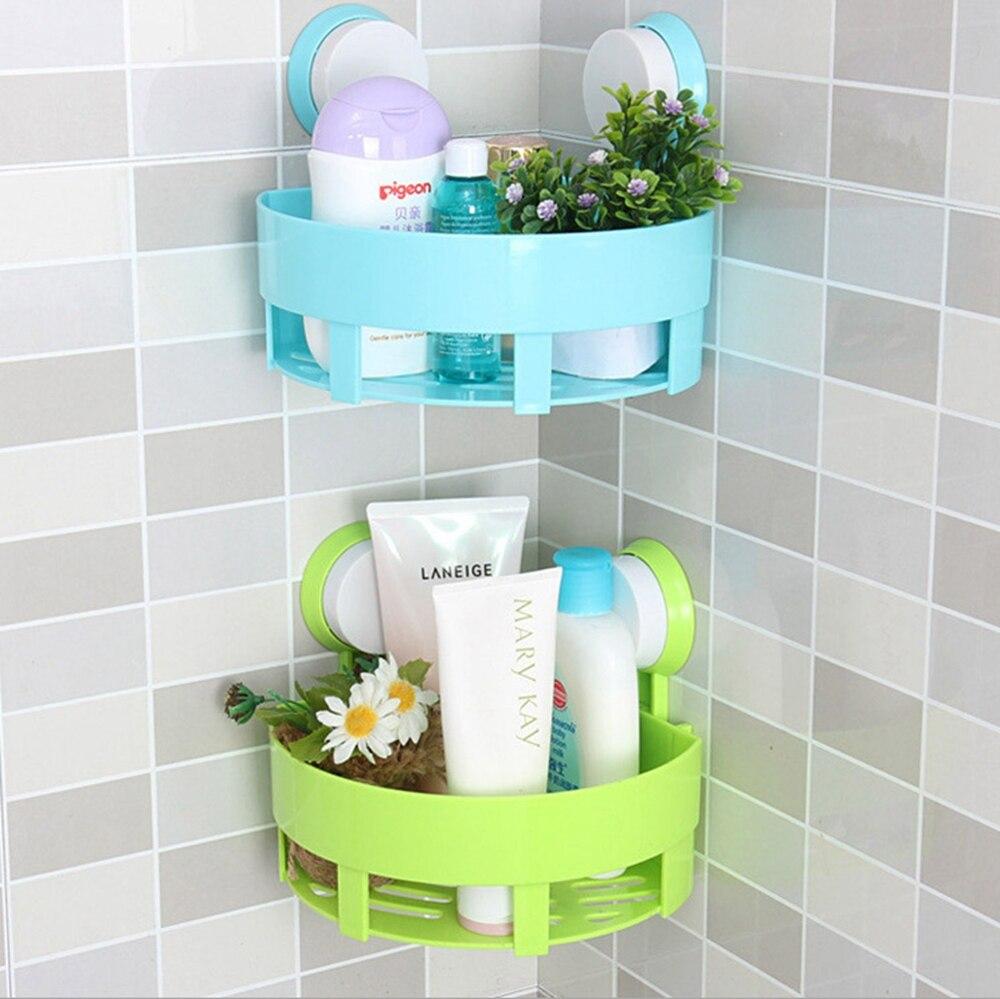 Dehub High Quality Wall Mounted Bathroom Corner Storage Rack ...