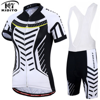 KIDITOKT 2018 Women Summer Cycling Jerseys Set Mountain Bicycle Clothing Quick Dry Sportswear Maillot Ropa Ciclismo