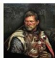 O Envio gratuito de 1/10 Escala Resina Cavaleiros Templários Guerreiro Com Sua Espada Busto