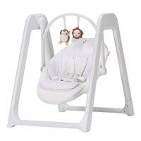 Белые детские кресла качалки с электричеством 220 В, детские качели с музыка сна, время исправить качели детские кресла с регулировки спинки