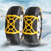 New Arrival 1PC Winter Truck Car Easy Installation Snow Chain Tire Anti Skid Belt No17 Dropshipping