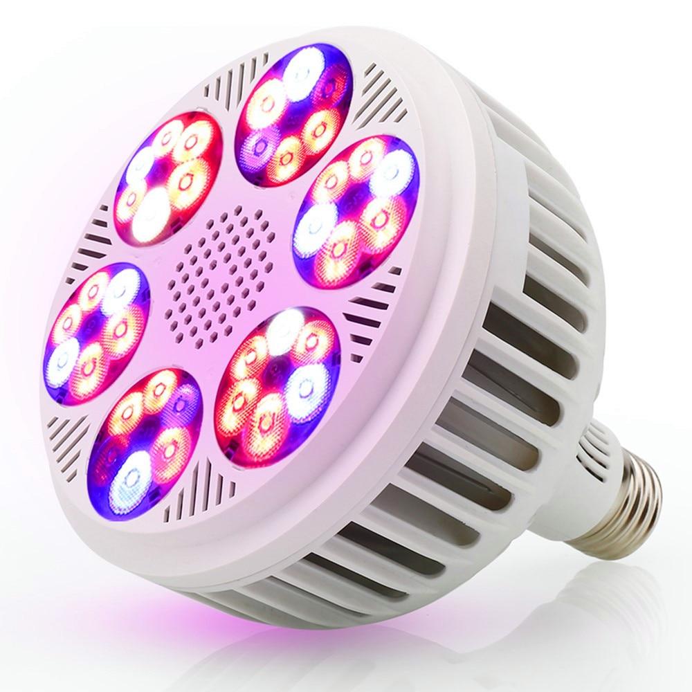 120W Full Spectrum Potted Indoor Plant Veg Flower LED Grow Light Bulb Hydroponic