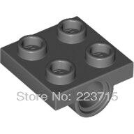 *Technic Plate 2X2 w. 2 holes* DIY enlighten block bricks,Compatible With Other Assembles Particles
