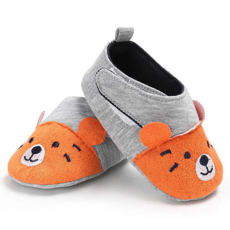 2017 Fashion New Autumn Winter Baby Shoes Girls Boy First Walkers Newborn Cartoon Shoes 0-18M Shoes First Walkers