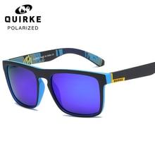 e585f37059 QUIRKE Sunglasses Men Polarized Women Square Sun Glasses 2019 Male Female  Driving Sunglasses Retro Cheap Luxury Brand Designer